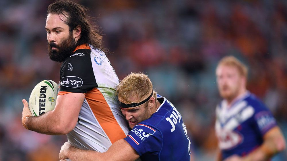 Wests Tigers captain Aaron Woods responds to boos over reported Canterbury deal with ANZAC medal