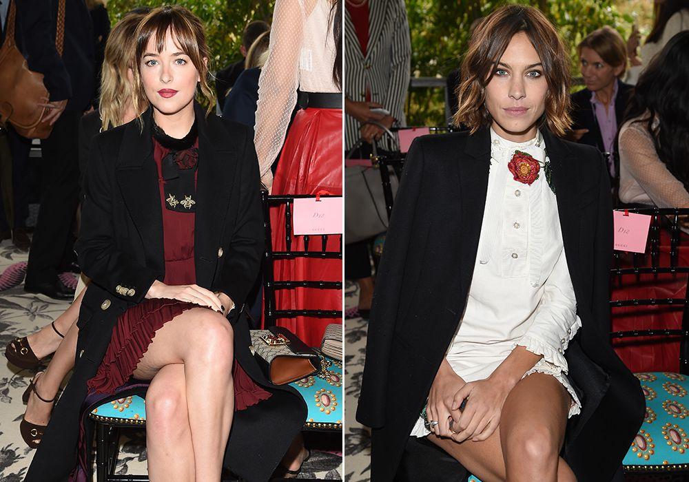 Alexa Chung v Dakota Johnson: who wore Gucci best?