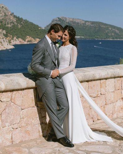 Rafael Nadal marries bride Mery Perello in lavish wedding in Mallorca
