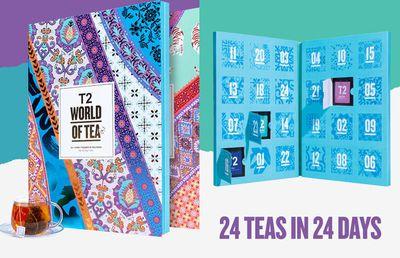 T2 Tea Christmas Countdown Advent Calendar Teabags