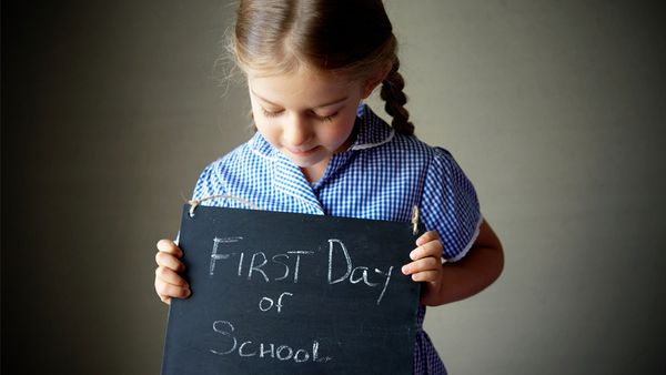 'When I think about my little baby – my last baby – heading off to school in her uniform, I become emotional. Image: Getty