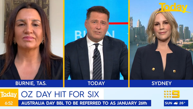 Speaking to Jacqui Lambie and Sarrah Le Marquand, Stefanovic said Cricket Australia's decision should have been made by everyday Australians.