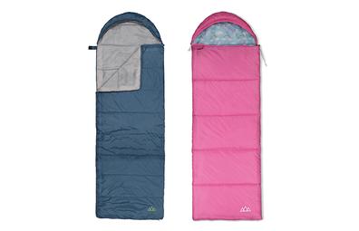 Kmart Trail Hooded Sleeping Bag and Unicorn Hooded Sleeping Bag for Kids