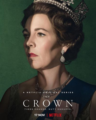 Image result for the crown season 3 poster""