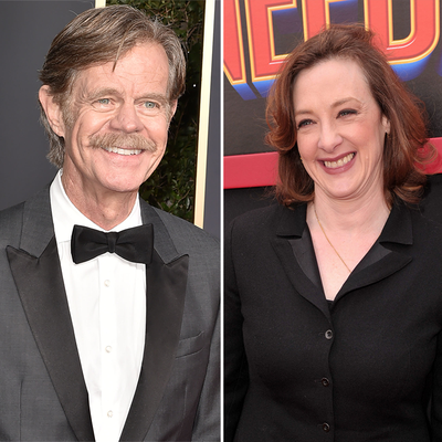 William H. Macy and Joan Cusack
