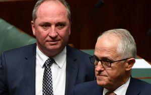 Barnaby Joyce: 'I was thrown under bus by Malcolm Turnbull'