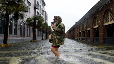 Hurricane Matthew hits Florida coast (Gallery)