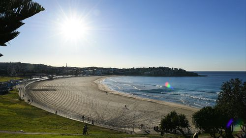Sydney temperatures may reach 13 degrees above average this weekend.