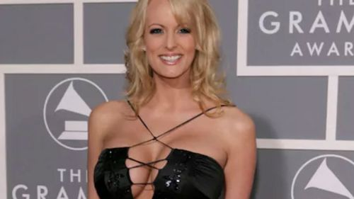 Daniels claims she had an affair with the president. (Supplied)