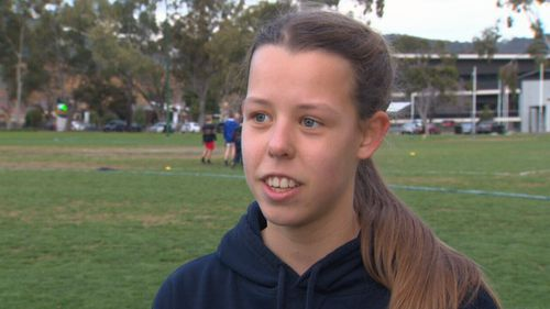 Scarlett Pickett suffered the lingering effects of concussion after a head knock.