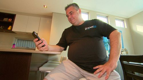 David Spano works as a delivery driver for Zoom2u, and can make up to $2000 a week.