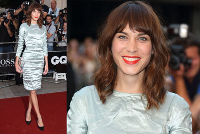 Model and media personality Alexa Chung opted for a more casual look.