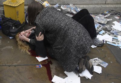 Witnessing the Immediate Aftermath of an Attack in the Heart of London