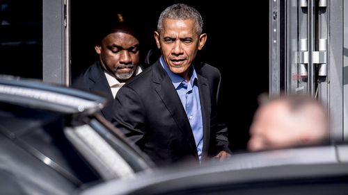 A second package addressed to the residence of Former President Barack Obama was intercepted by Secret Service personnel in Washington, DC.