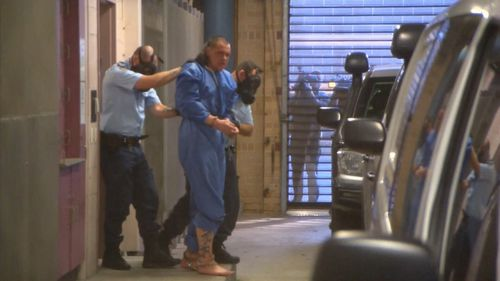28-year old Sean Matthews has been charged with the attempted murder of Senior Constable Scott Collis. Picture: 9NEWS