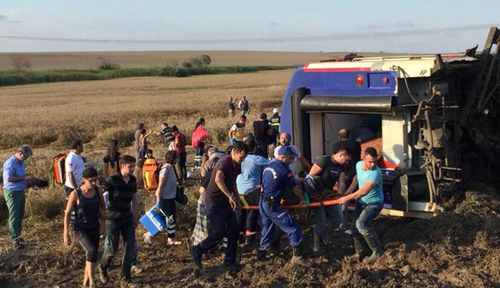 Turkish train accident kills at least 10