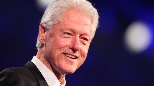 Former US President Bill Clinton. (Getty)