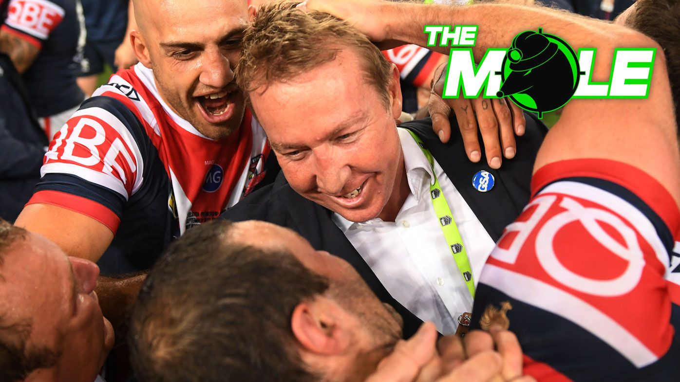 The Mole: Trent Robinson set to be handed Sydney Roosters life membership