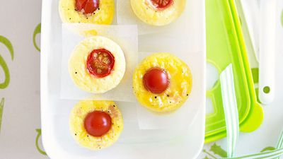"Recipe: <a href=""http://kitchen.nine.com.au/2016/05/16/17/36/mini-ham-cheese-and-tomato-frittatas"" target=""_top"">Mini ham, cheese and tomato frittatas</a>"