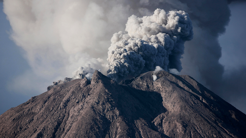 Sinabung is among more than 120 active volcanoes in Indonesia