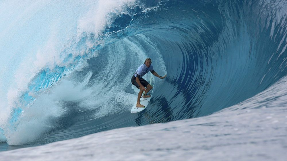 Owen Wright. (AFP)