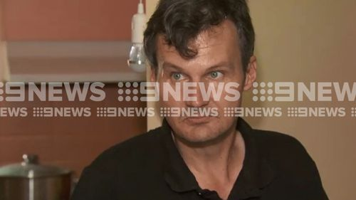 Adam, 41, spoke to 9NEWS about the violent home invasion. (9NEWS)
