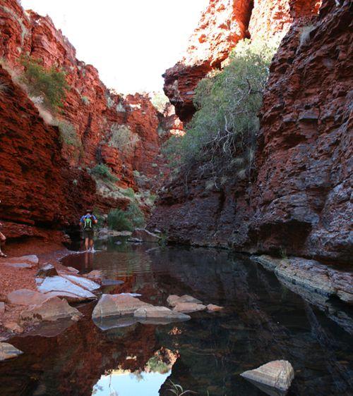Western Australia tourist drowning Karijini National Park