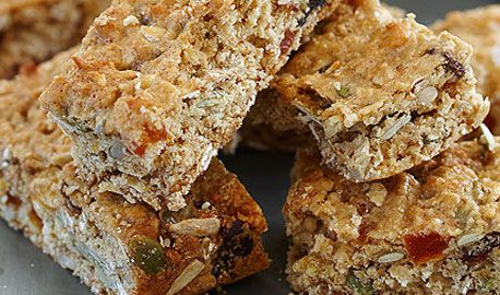 Mixed seed & oat muesli bar
