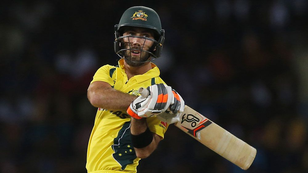 Another Maxwell big show helps Aussies win