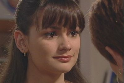 Kristy's character Chloe Richards had a tough time of it and turned to drugs, naturally dealt to her by the school secretary (played by Kimberley Joseph). In a similar vein, Chloe is raped on the beach only to be counselled by her assailant, Brad Cooper (Bruce Samazan) – with whom she also has a relationship.  And other wholesome plotlines until Chloe (spoiler alert) dies.
