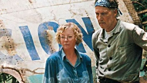 Juliane Koepcke returns to the crash site in the Amazon with director Werner Herzog.