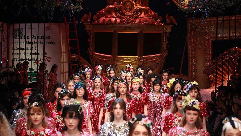Milan's fashion monarchy reigns supreme