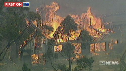 Three people were killed in the fires. (9NEWS)