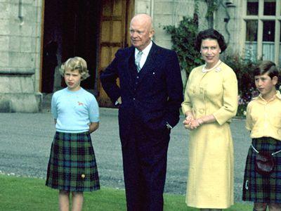 Former US President Eisenhower