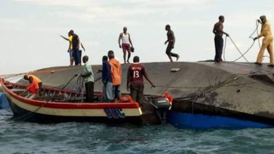 Hundreds missing and at least 44 dead in ferry capsize tragedy