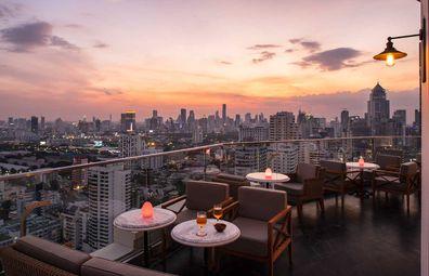 Belga Rooftop Bar & Brasserie at Sofitel Bangkok