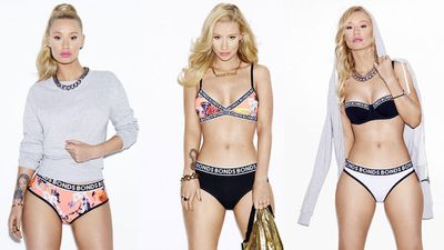 Iggy on how she prepped for the Bonds shoot: