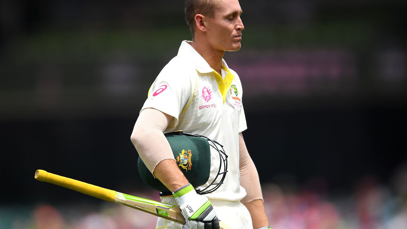 Another batting collapse leaves Aussies on the brink