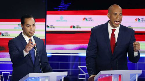 Both Julian Castro and Cory Booker had standout moments in the debate.