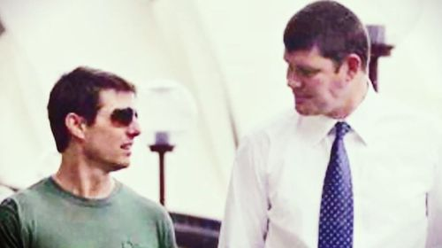 James Packer had been friends with actor Tom Cruise.