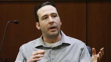 William Hoehn testifies at his trial.