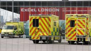 Ambulances in London