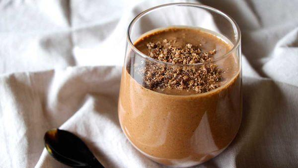 kkäo Co. cacao tahini vegan thickshake