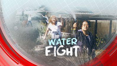 Neighbour water fight