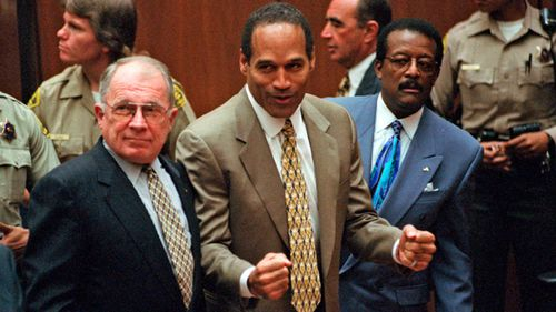 Simpson was found not guilty by a jury but deemed responsible in a later civil trial. (AP/AAP)