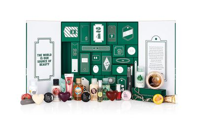 "<a href=""http://www.thebodyshop.com.au/gifts/tween-gifts/advent-calendar.aspx#.VlOpWXYrKUk"" target=""_blank"">24 Happy Days Advent Calendar, $129, The Body Shop</a>"