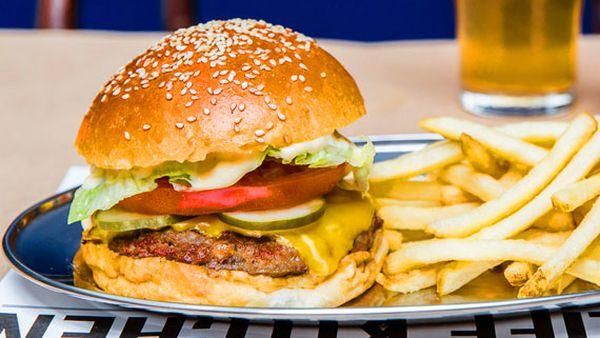 Pub Life Kitchen's O.G. burger