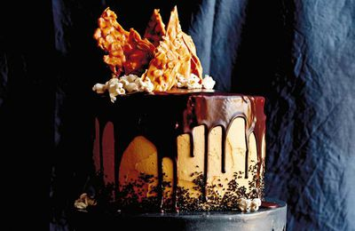 "Recipe: <a href=""http://kitchen.nine.com.au/2016/06/23/10/14/caroline-griffiths-chocolate-layer-cake-with-peanut-butter-frosting"" target=""_top"">Caroline Griffith's chocolate layer cake with peanut butter frosting</a>"