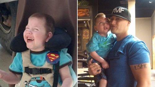 Boy with terminal disease named honorary Marine