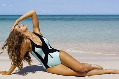 She cooks... AND she designs swimwear for curves! <br/><br/>What doesn't this girl do?